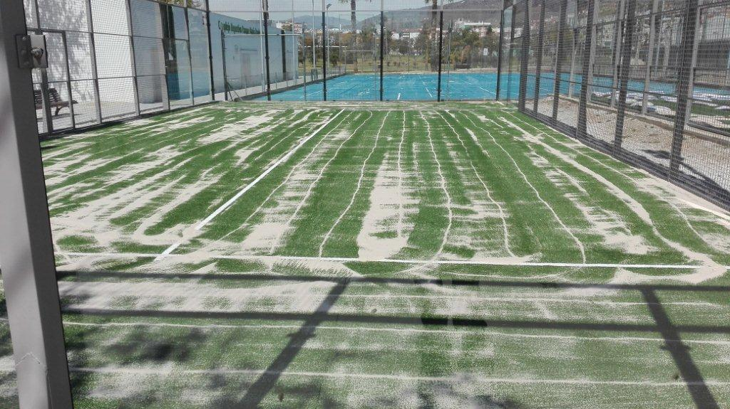 Césped deportivo Padel