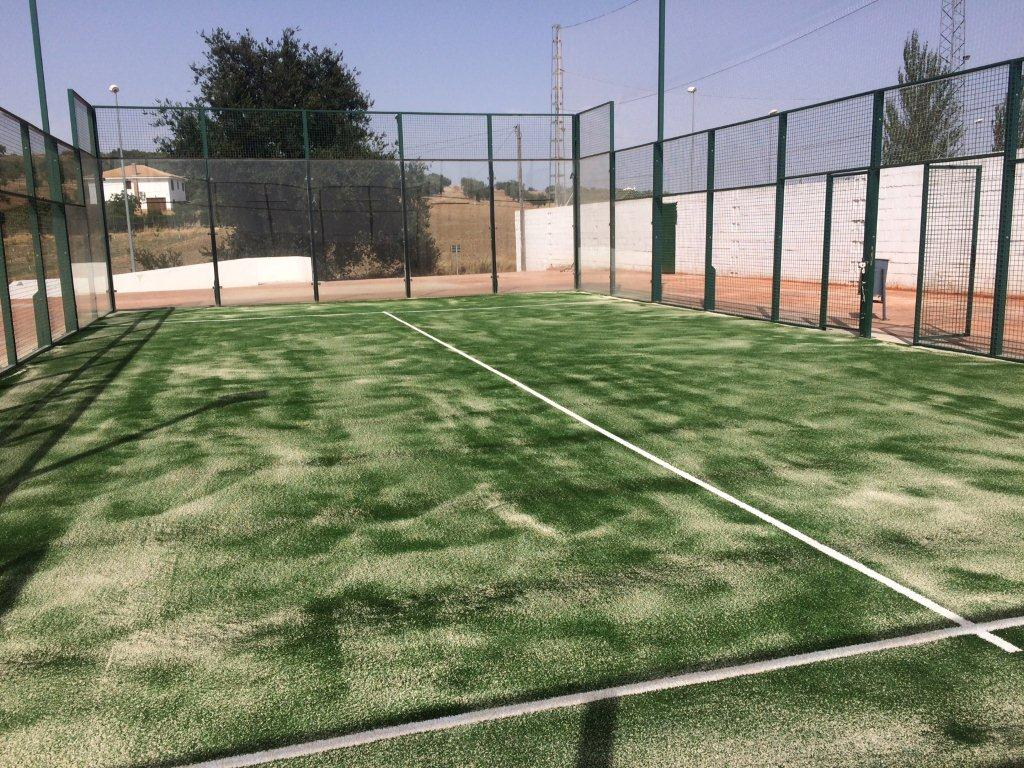 Cesped artificial Pista Padel