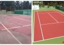 Retoping Pista Tenis